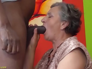80 life-span age-old nourisher first interracial sex