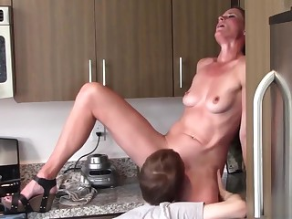 Oral coition mom and son (Sofie Marie)