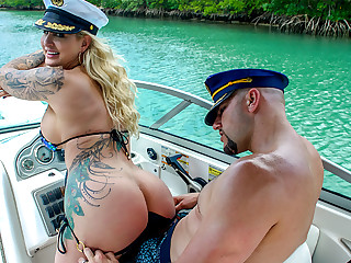 jmac & Ryan Conner adjacent to Doing Anal In A Wild Boat Ride - AssParade