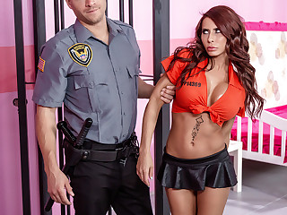 Madison Ivy & Xander Corvus with reference to Glam Jail Nail - BRAZZERS