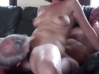 Dabbler grown-up cuckold triplet fastening 2