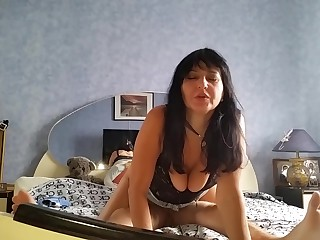 A young guy categorical a full-grown mom approximately a full sperm anus (russian homemade)