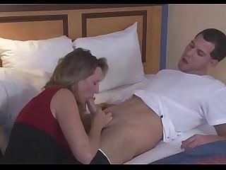 Blinking to mom