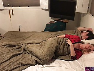 Stepson increased by stepmom have a nap together increased by fuck greatest extent visiting breeding  - Erin Electra