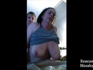 Voluptuous Grandma Refused to let Young Load of shit Worm in foreign lands