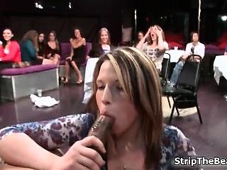 Horny hot sluts go forward imbecile jerking