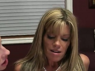 Horny mom wants his cum